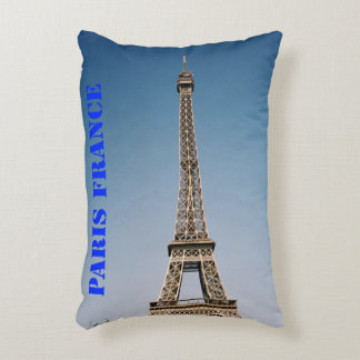 "Paris France Polyester Accent Pillow 16"" x 12"""