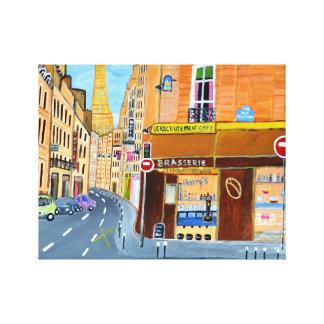 Paris France, Rue. St. Dominique Canvas Print