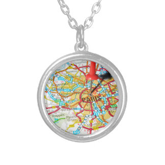 Paris, France Silver Plated Necklace