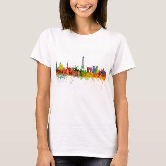 Paris France Skyline T-Shirt