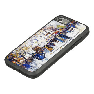 Paris France Street Scene Fashion iPhone 7 8 Case