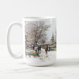 Paris France Street Scene Marketplace Mug