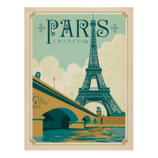 Paris France - Tour Eiffel Cartes Postales