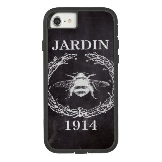 paris french country chalkboard vintage queen bee Case-Mate tough extreme iPhone 8/7 case
