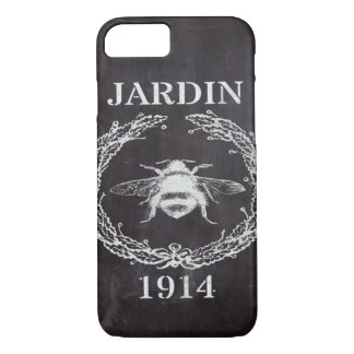 paris french country chalkboard vintage queen bee iPhone 8/7 case