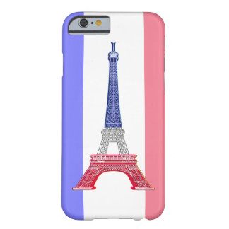 Paris French Flag Eiffel Tower Barely There iPhone 6 Case