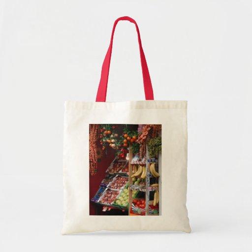 Paris Fruit Market Bag