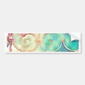 Paris Garden Gate Bumper Stickers