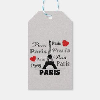 Paris Gift Tags