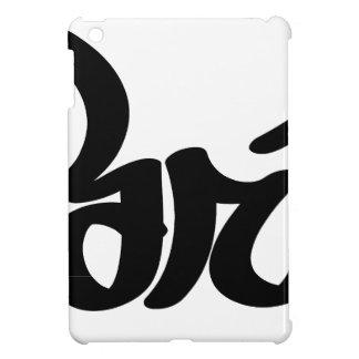paris graffiti tag iPad mini case