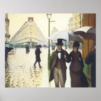 Paris, Gustave Caillebott Poster
