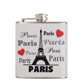 Paris Hip Flask