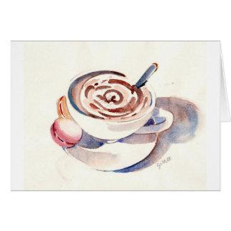 Paris Hot Chocolate Card