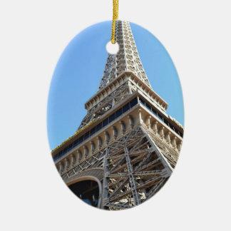 Paris Hotel -Las Vegas Ceramic Oval Ornament
