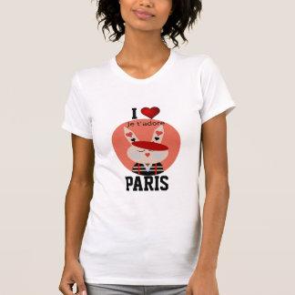 Paris - I Love Paris - je t'adore T-Shirt