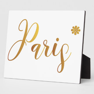 Paris-in-Gold-with-Flower Plaque