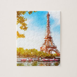 Paris in The Fall Jigsaw Puzzle