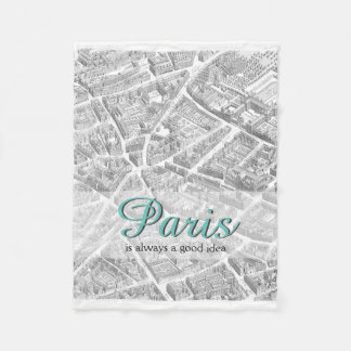 Paris is Always A Good Idea | Blanket