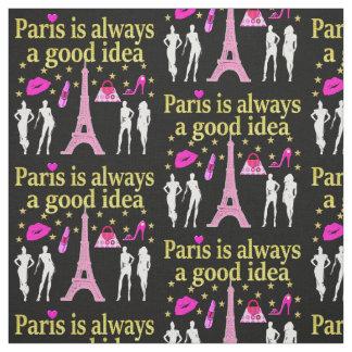 PARIS IS ALWAYS A GOOD IDEA FABRIC