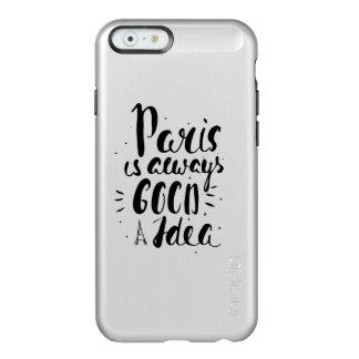 Paris Is Always A Good Idea Incipio Feather® Shine iPhone 6 Case