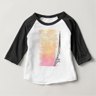 PARIS IS always good idea, watercolor Baby T-Shirt
