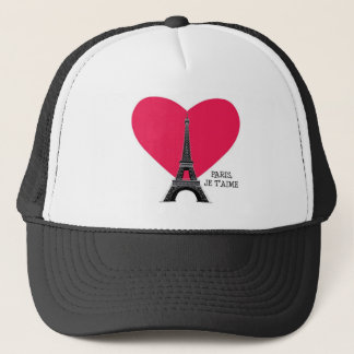 Paris, Je T'Aime Trucker Hat