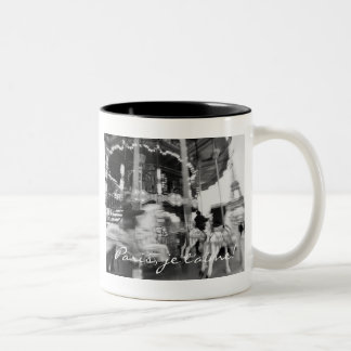 Paris, je t'aime! Two-Tone coffee mug