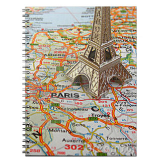 Paris Journal. Paris is always a delight Spiral Notebook