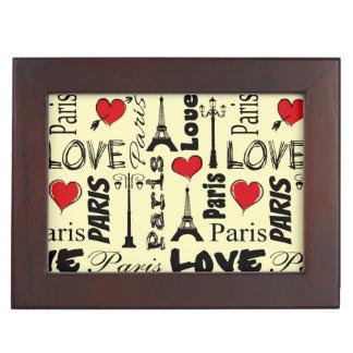 Paris Keepsake Box