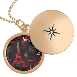 Paris: La Tour Eiffel Locket Necklace