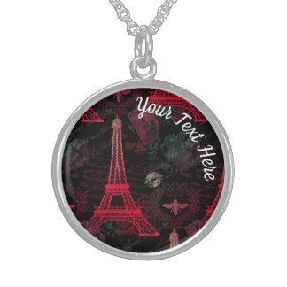 Paris: La Tour Eiffel Sterling Silver Necklace