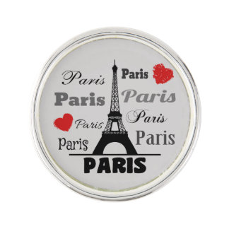 Paris Lapel Pin