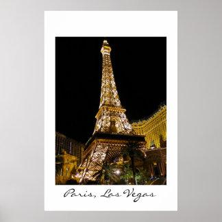 Paris, Las Vegas Poster