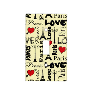 Paris Light Switch Cover