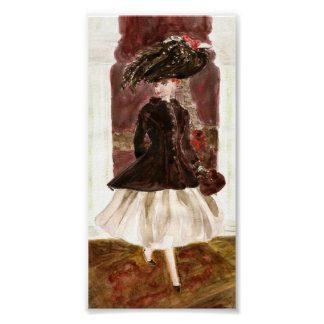 Paris Lights: Matisse Doll Fashion Poster