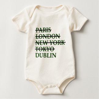 Paris London NYC Tokyo Dublin Baby Bodysuit