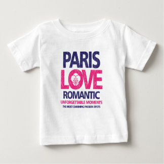 paris love baby T-Shirt
