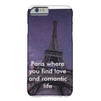 Paris love barely there iPhone 6 case