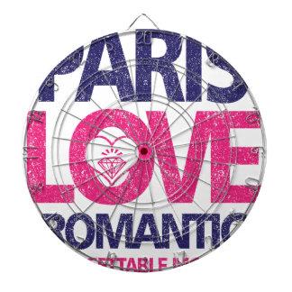 paris love dartboard