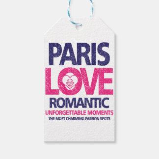 paris love gift tags