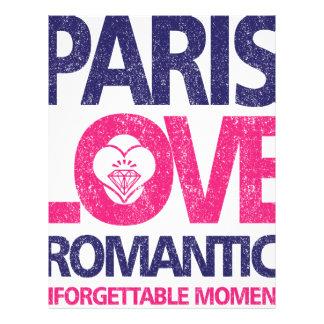 paris love letterhead