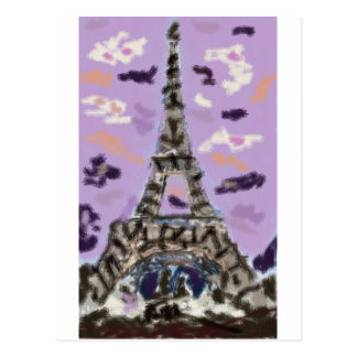 Paris Love Postcard