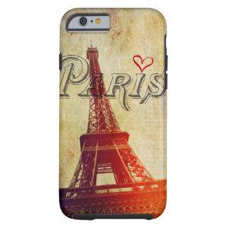 Paris Love Tough iPhone 6 Case