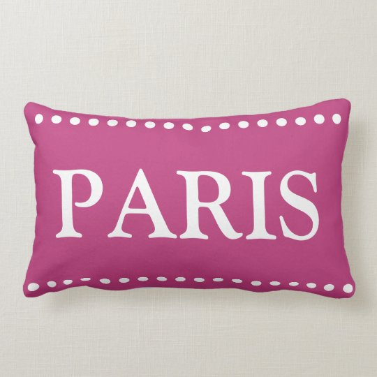 Paris Lumbar Pillow