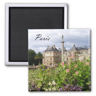Paris Luxembourg Gardens Magnet