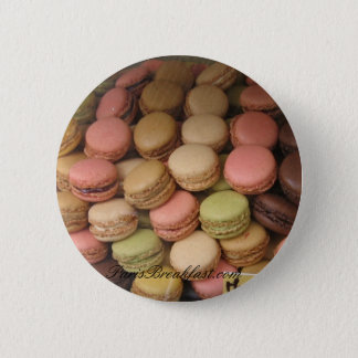 Paris MACARONS 2 Inch Round Button