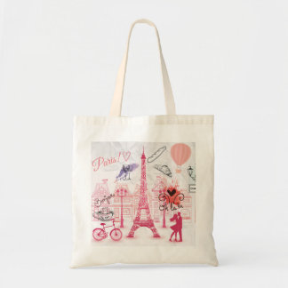 Paris magic tote bag