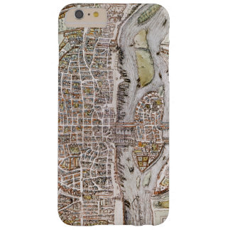 PARIS MAP, 1581 BARELY THERE iPhone 6 PLUS CASE