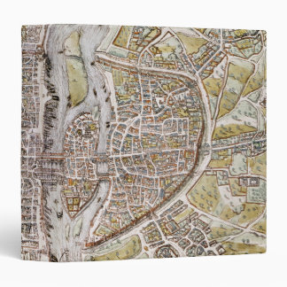 PARIS MAP, 1581 BINDERS