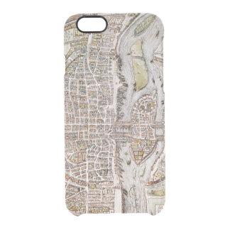PARIS MAP, 1581 CLEAR iPhone 6/6S CASE
